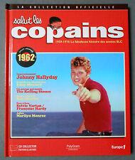 ►SALUT LES COPAINS - COLLECTION OFFICIELLE LIVRE + CD 1962 - HALLYDAY - MITCHELL