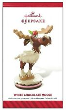 2014 Hallmark White Chocolate Moose Limited Quantity Ornament!