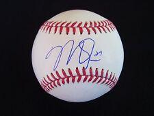 MIKE TROUT  Signed (manfred) OML Baseball JSA LOA  COA LOS ANGELES ANGELS