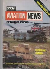 AVIATION NEWS MODEL MAGAZINE V12 N20 CYPRUS AND LEBANON, UK AIRPORT VISITORS