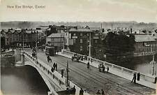 Vintage Postcard New Exe Bridge Exeter Devon, England UK