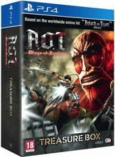 Attack on Titan - A.O.T. Wings of Freedom Treasure Box (Playstation 4) NEW PS4