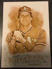 2016 Topps Allen & Ginter Gold 5x7 Card JOSE CANSECO Oakland A's Athletics 9/10