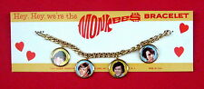 the Monkees 1967 picture bracelet on original MINT card