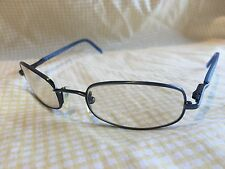 Police Mod 2636 50 * 135 Vintage Blue RX Eyeglasses Made in Italy