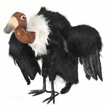 """MTH11932 10"""" Standing Feather Flapping Sinister Vulture Halloween Decoration"""