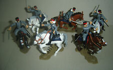 SPANISH HUSSARS of PAVIA Mounted ARGENTINA DSG Plastic Soldiers Britains