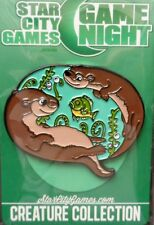 Otter Pin Button *NEW IN PLASTIC* Star City Starcity Games SCG Game Night TB121