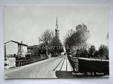 MORTEGLIANO Via Marconi Udine vecchia cartolina