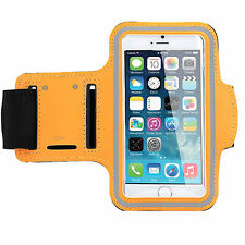 Sports Running Workout Gym Armband Arm Band Case Cover iPhone 6 6S PLUS - Orange