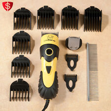 Pet Grooming Clipper Dog Cat Animal Trimmer Clippers Set Hair Kit Professional