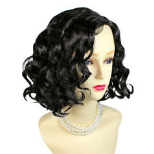 Awesome Lovely Short Curly Brown Black Summer Style Ladies Wigs from WIWIGS UK