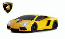 Lamborghini Aventador Wireless Car Mouse (Yellow) - Officially Licensed