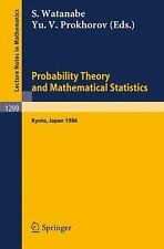 Probability Theory and Mathematical Statistics: Proceedings of the Fifth Japan-U