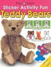 Sticker Activity Fun - Teddy Bears (Play & Learn (Priddy Books))