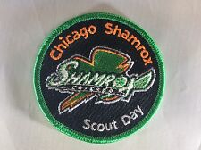 Northwest Suburban Council Chicago Shamrox Lacrosse Scout Day patch