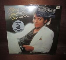 VERY SCARCE 1982 MICHAEL JACKSON THRILLER SEALED LP RECORD !!!!!!!!