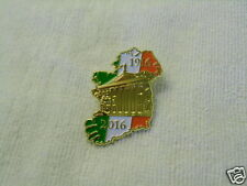 IRISH REPUBLICAN OUTLINE OF IRELAND 1916~2016 DUBLIN BADGE PIN NEW RELEASE