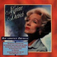 """MARLENE DIETRICH """"DIE GROSSEN ERFOLGE"""" CD NEU"""