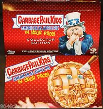 2016 GARBAGE PAIL KIDS AMERICAN AS APPLE PIE IN YOUR FACE EMPTY COLLECTOR BOX
