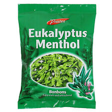 Eucalyptus Menthol Candies Extra Strong & Refreshing Bonbons Sweets 100g 3.5oz