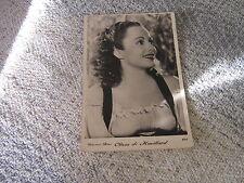 OLIVIA DE HAVILLAND CARTE POSTALE FRANCE 612