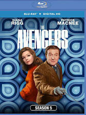 THE AVENGERS Season 5 TV Series (2014, 3-Disc Blu-ray, Region A)