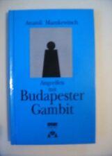 Schach - Angreifen mit Budapester Gambit, Anatoli Mazukewitsch, Sportverlag 1993