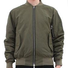 Represent Clothing XL Oblivion Olive Bomber MA1 Military Combat Flight Jacket L