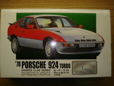 "ARII 1:24 Scale '78 Porsche 924 Turbo ""Owners Club Series"" Model Kit - New"