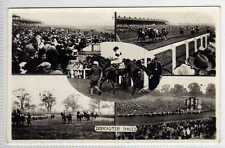 (Lb4347-408) Real Multiview Photo,  DONCASTER Races, 1961  Used G-VG