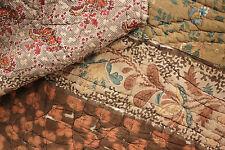 Antique French Provencal quilt Fenetre composition textile c1830 Ramoneur