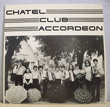 "33T CHATEL CLUB ACCORDEON Châtellerault Disque LP 12"" KALINKA Musette CA 01 RARE"
