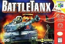 BattleTanx (Nintendo 64, 1998) BATTLETANX N64 N GAME ONLY NES HQ