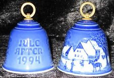 1994 BING & GRONDAHL WEIHNACHTSGLOCKE / CHRISTMAS BELL TOP 1. WAHL
