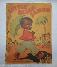 1942 Little Black Sambo Saalfeld Publisher Children's Book