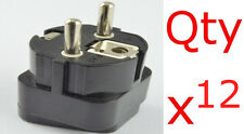 12PK USA US UK Canada to Germany France Europe Plug Adapter Converter