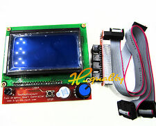 Reprap RAMPS1.4 12864 LCD display controlle + adapter Mendel,Prusa 3D Printer