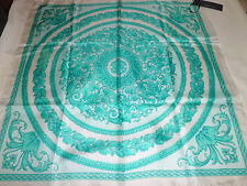 Authentic Versace Silk Scarf  Foulard Woman
