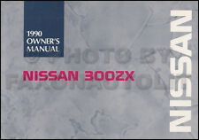 1990 Nissan 300ZX Owners Manual Original OEM 300 ZX Owner Instruction Guide Book