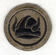 Army Patch:  47th Infantry Division - subdued, cut edge