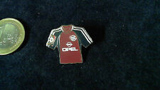 FCB Bayern München Trikot Pin 2001/2002 Home Badge Kit Opel altes BL Logo