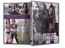 Queens of Combat Wrestling 6 DVD, Havok Tessa Blanchard WWE ROH TNA WSU CZW