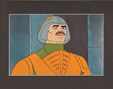 HE-MAN Man-At-Arms Masters of the universe Production Animation Art Cell