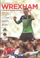 2013/14 WREXHAM V SOUTHPORT 08-10-2013 Skrill Premier (Mint)