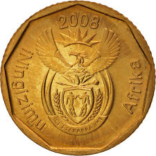 [#98895] South Africa, 10 Cents, 2008, Pretoria, Bronze Plated Steel, KM:441