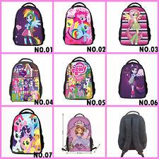 """16"""" My Little Pony Student Backpacks Girls' Cartoon Children School Satchel Bags"""