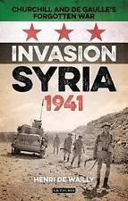 Invasión siria, 1941, Henri de Wailly