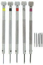 SE Screwdriver Set - Precision, A3 Steel Body, 65mn Steel Tip, 5 Pc