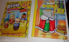 BABAR MODEL & PLAY BOOK  & A MIGHTY BEANZ GIANT COLOR & ACTIVITY BOOKS